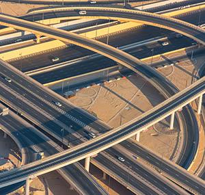 Inspiracja urbanistyczna sztuka dekoracyjna sieć drogowa
