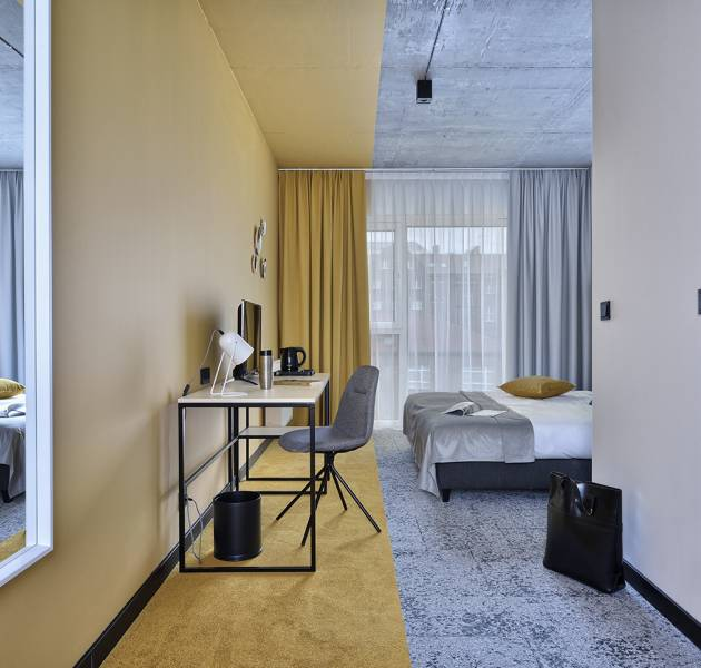 Ultrasoft Dalle : 340 / Scope - CTB : 910 - Hotel Arche Piła