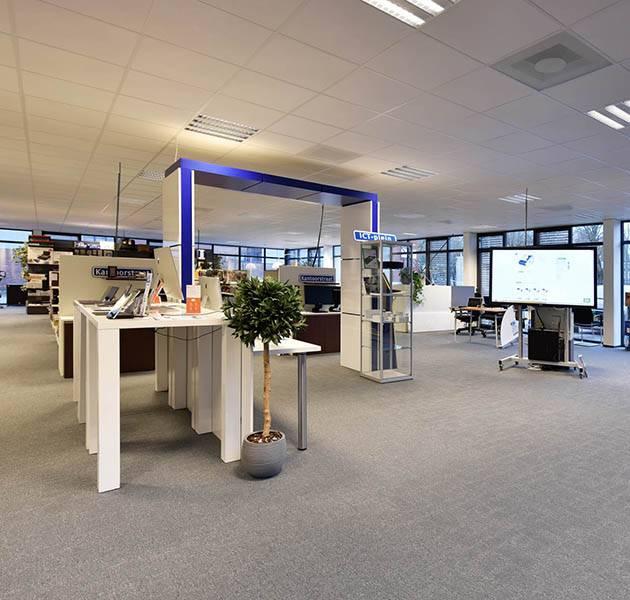 Inspiration Grande Reference office dalles Metropolitan grafik block open space