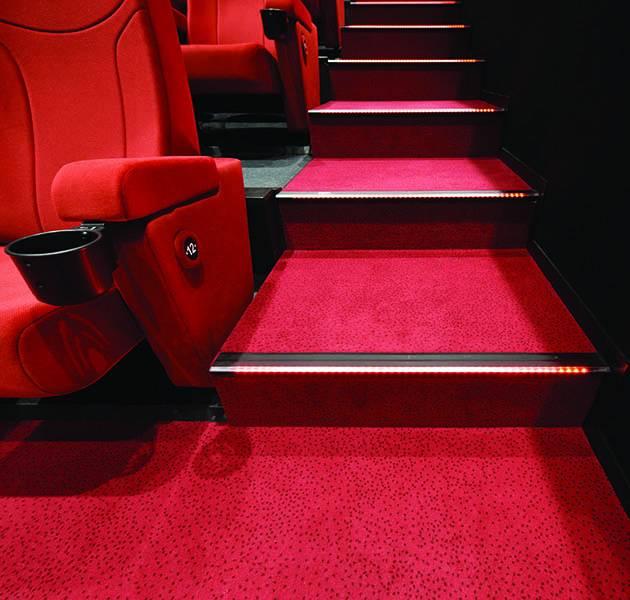 Inspiration Grande Reference hotel office cinema le design concept constellation escaliers salle cinema
