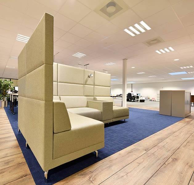 Inspiration Grande Reference office dalles Metropolitan grafik block salle d attente