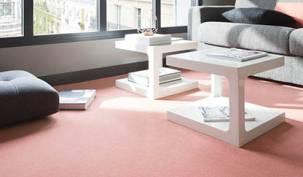 Conseils choisir home salon moquette laine rose