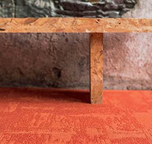 Kolekcja Infini Colors Wykładzina płyta Rock pomarańczowa