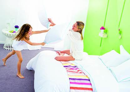 Porady wybór home sypialnia dom bitwa na poduszki