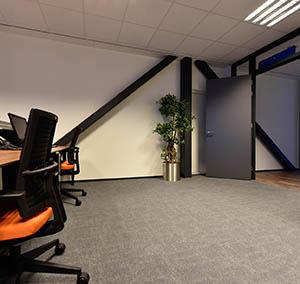 Inspiracja Wysoka Klasa office płyty wykładzinowe Metropolitan grafik block wejście do biura