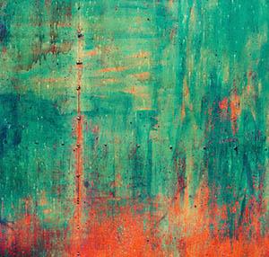 Inspiracja patyna sztuka dekoracyjna rdza