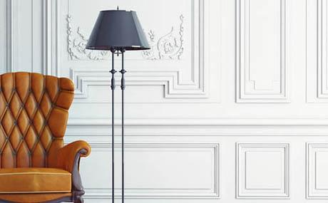 Inspiracja patyna sztuka dekoracyjna fotel skóra